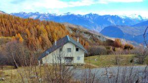 Chalet Hestia à l'automne