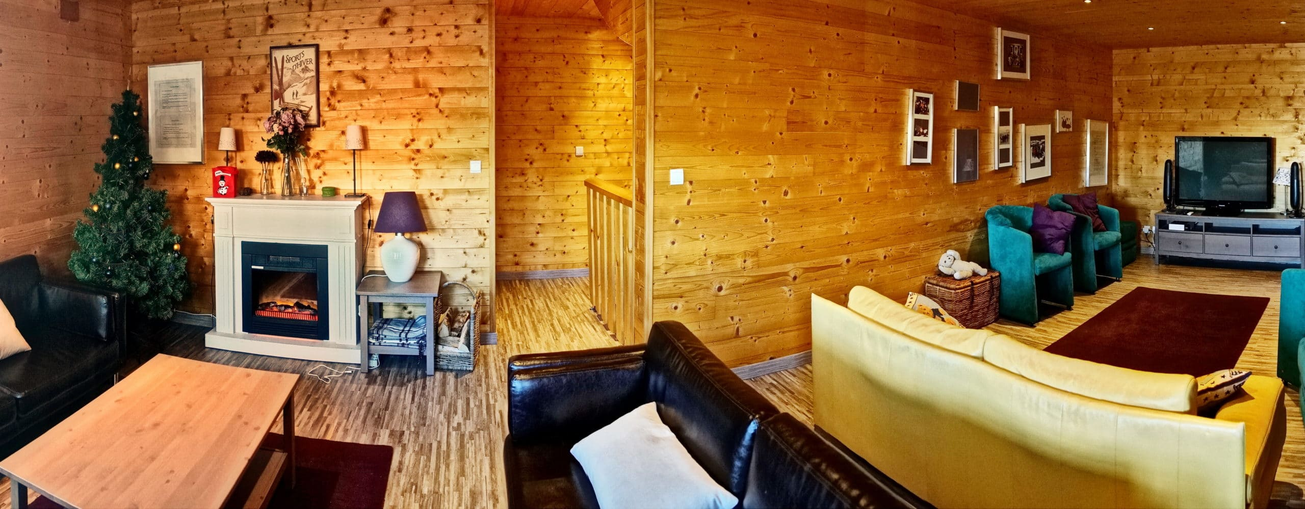 Double salon Chalet Hestia