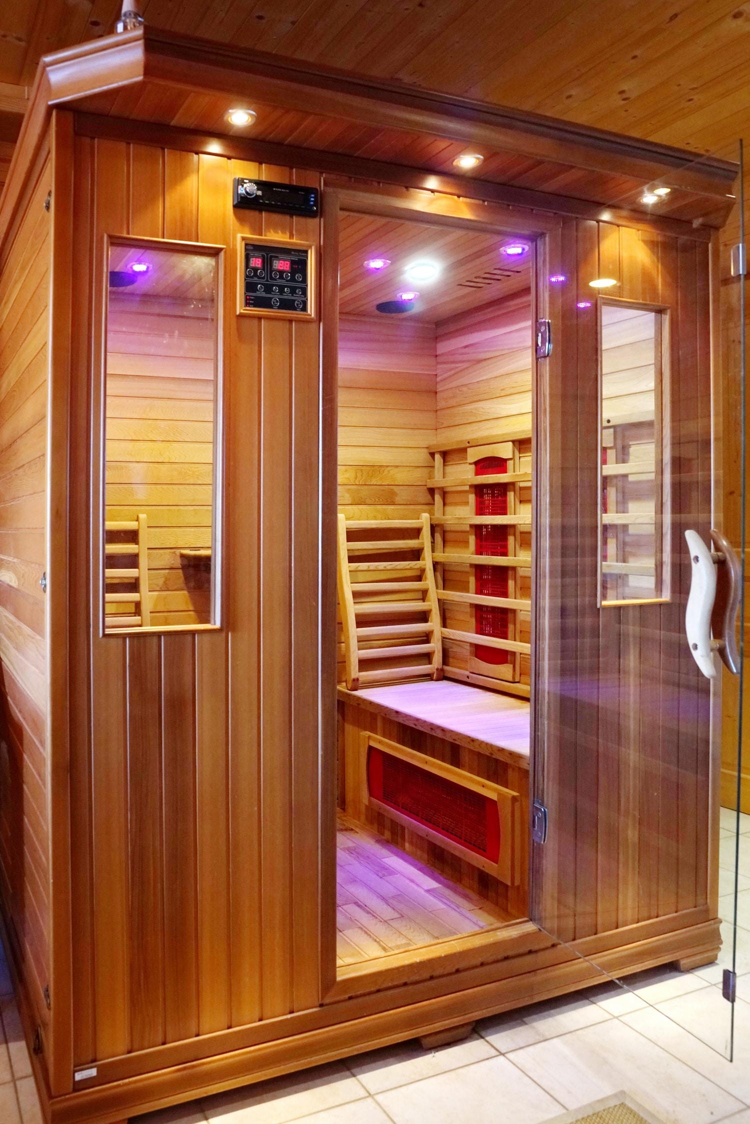 Sauna chalet Hestia